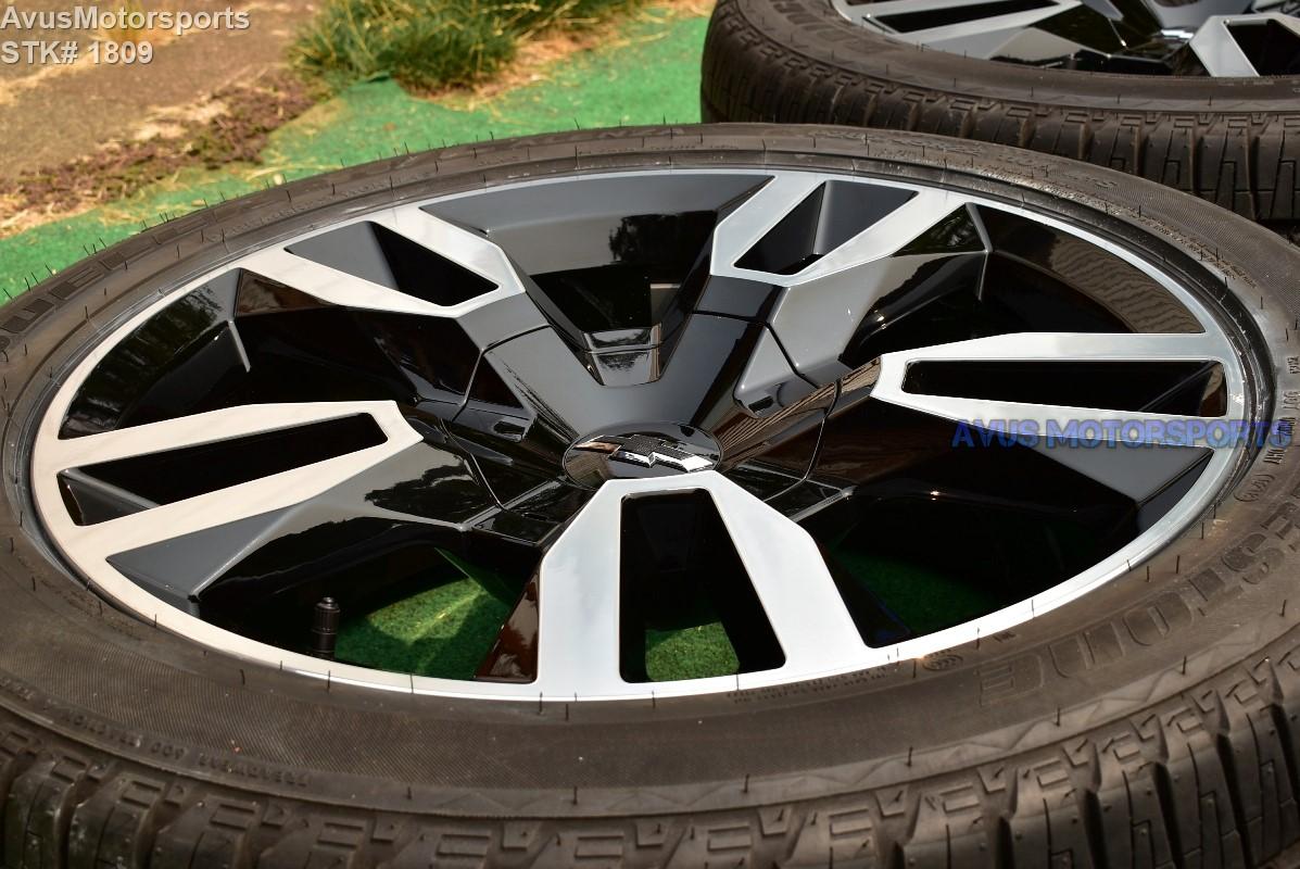"""22"""" Chevrolet Tahoe RST OEM FACTORY WHEELS TIRES Sierra ..."""