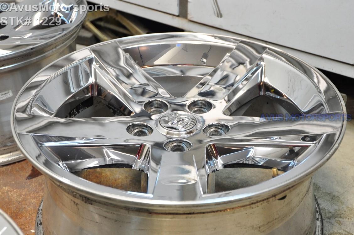 20 dodge ram oem 1500 sport factory chrome clad wheel. Black Bedroom Furniture Sets. Home Design Ideas
