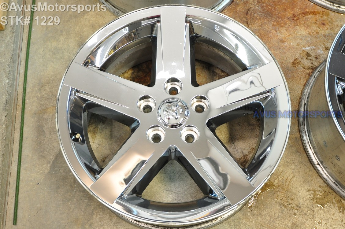 20 Quot Dodge Ram Oem 1500 Sport Factory Chrome Clad Wheels