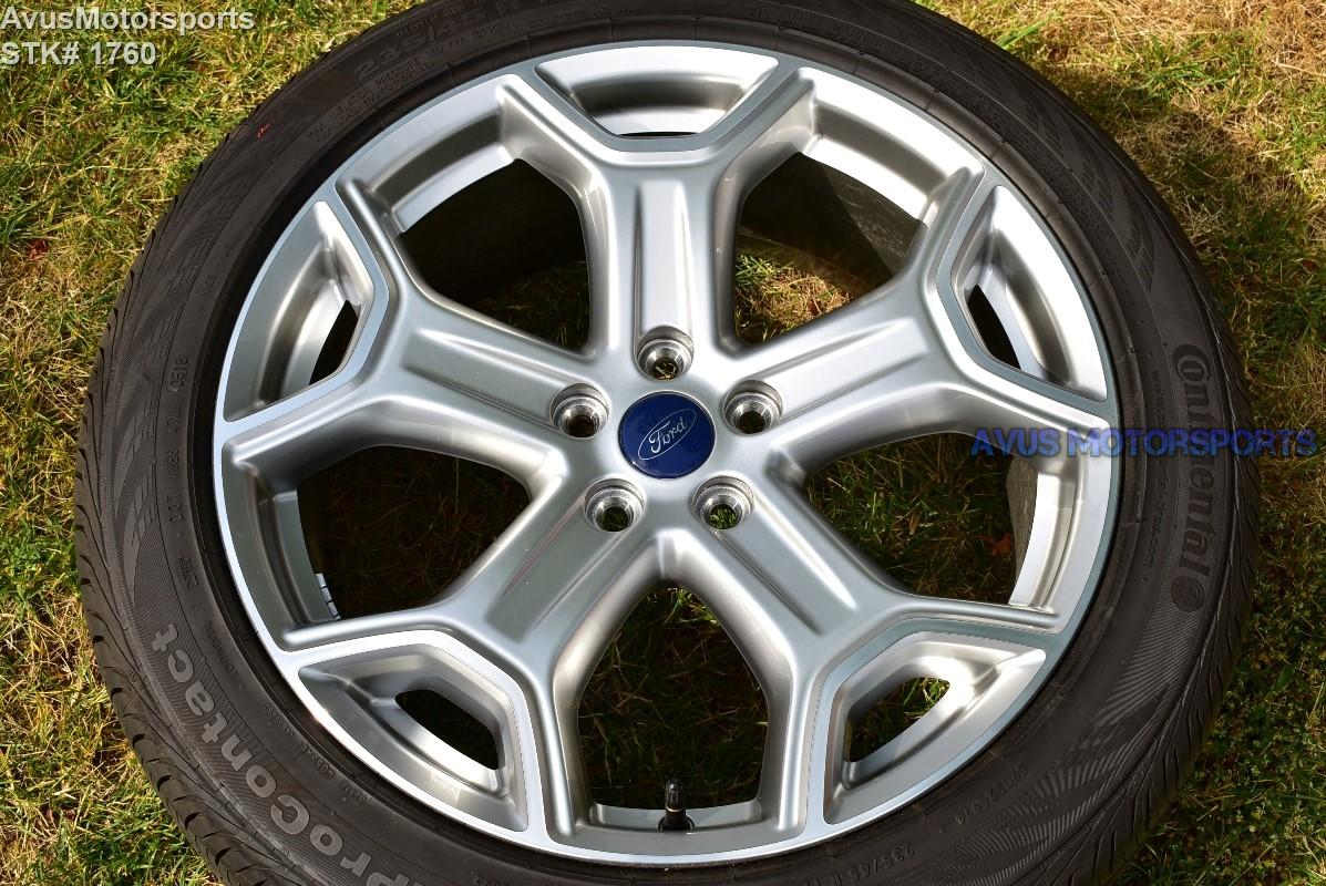 ford escape wheels titanium oem edge tires factory wheel 19inch