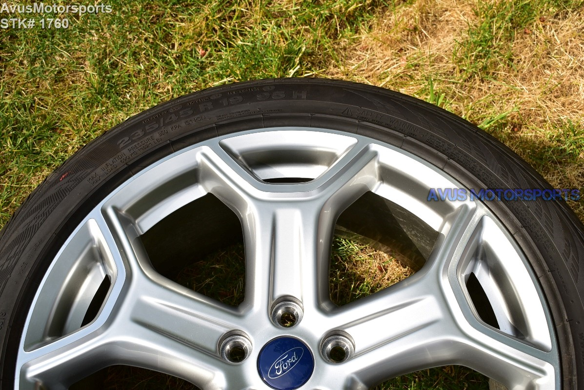 19 Quot Ford Escape Titanium Oem Factory Wheels And Tires 2015