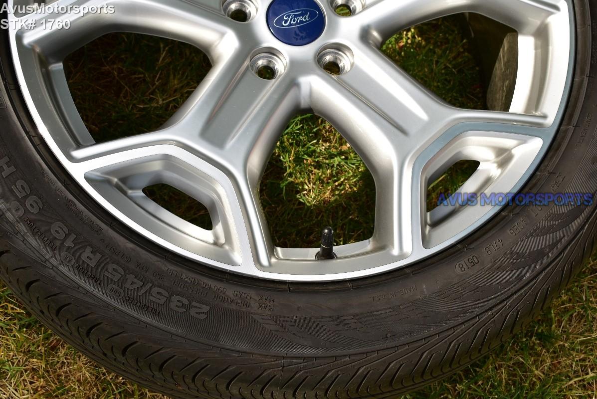 "Ford Escape Titanium >> 19"" Ford Escape Titanium OEM Factory Wheels and tires 2015 ..."