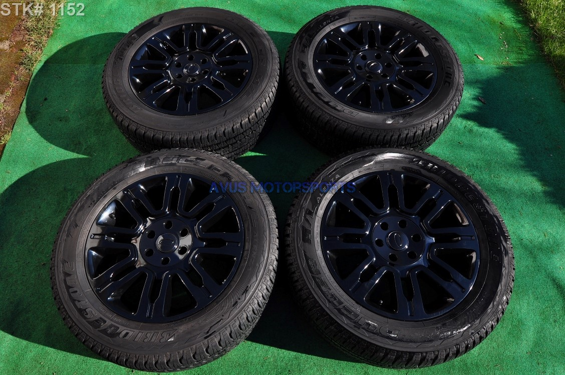 "F150 Bolt Pattern >> 20"" Ford F150 OEM Factory Platinum Wheels & Tires Expedition Powder Coated Black   eBay"