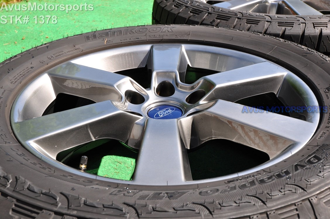 "Hankook Dynapro Atm 275 55r20 >> 20"" Ford F150 OEM Factory Gray FX4 Sport Lariat Wheels ..."