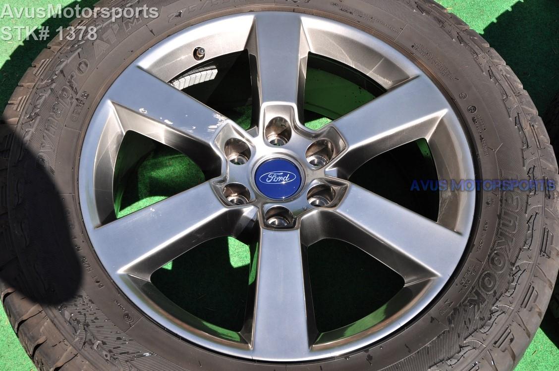 "F150 Bolt Pattern >> 20"" Ford F150 OEM Factory Gray FX4 Sport Lariat Wheels ..."