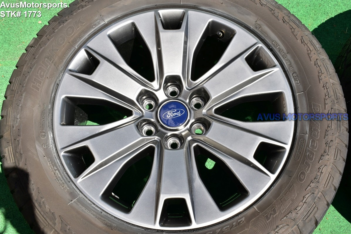 """Ford F150 Oem Wheels >> 20"""" Ford F150 OEM Factory Appearance Package Wheels Tires Expedition 2017 2018"""