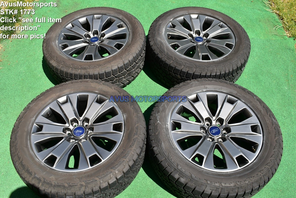 "Hankook Dynapro Atm 275 55r20 >> 20"" Ford F150 OEM Factory Appearance Package Wheels Tires Expedition 2017 2018"