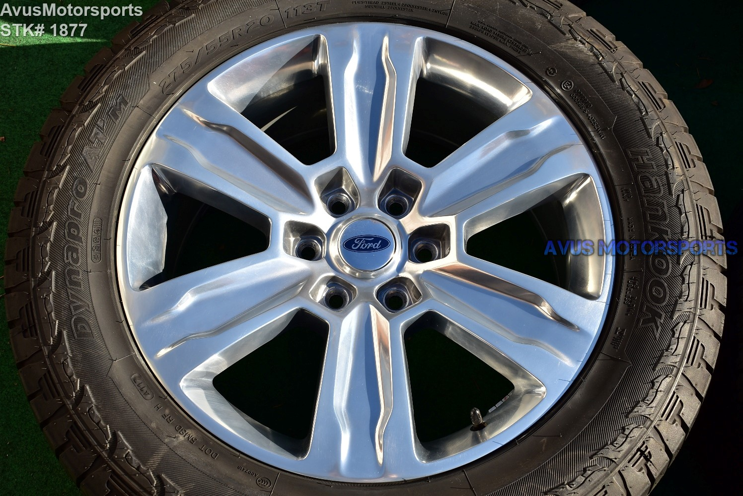 "Hankook Dynapro Atm 275 55r20 >> 20"" Ford F150 OEM Factory FX4 Platinum Lariat Wheels Tires ..."