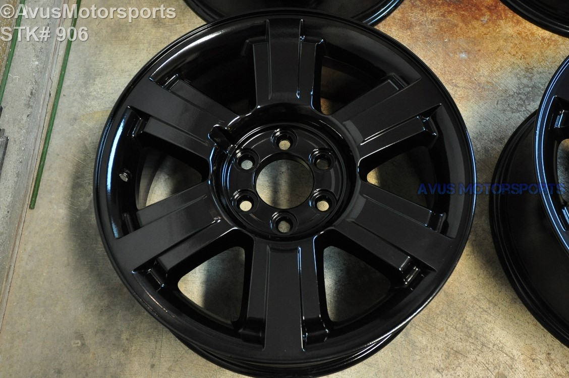 "2004 Ford F150 Bolt Pattern >> 20"" Ford F150 OEM Factory Wheels Expedition 2004 2005 2006 2007 2008 Gloss Black"