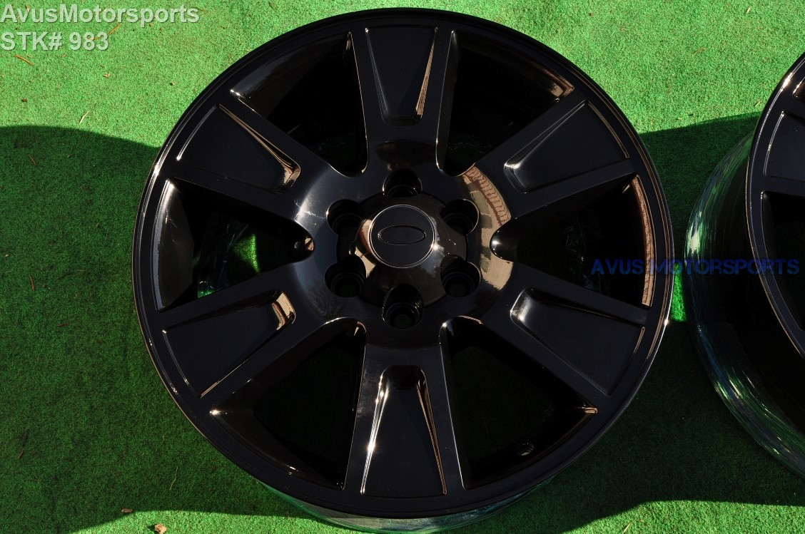 """2004 Ford F150 Bolt Pattern >> 20"""" Ford F150 OEM Factory Wheels Expedition 2009 2010 2011 2012 2013 Gloss Black 