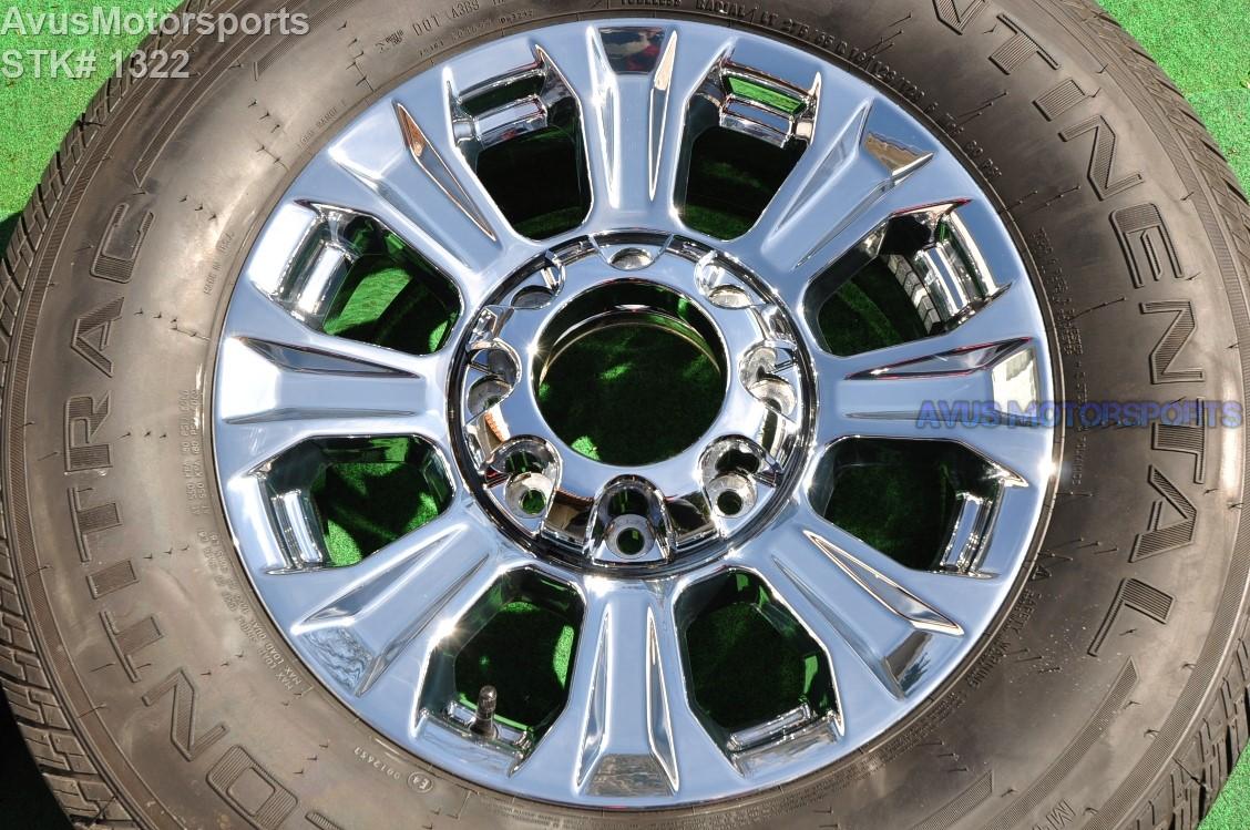 "F250 Lift Kit >> 2017 Ford F250 Super Duty 18"" Chrome OEM Factory Wheels ..."
