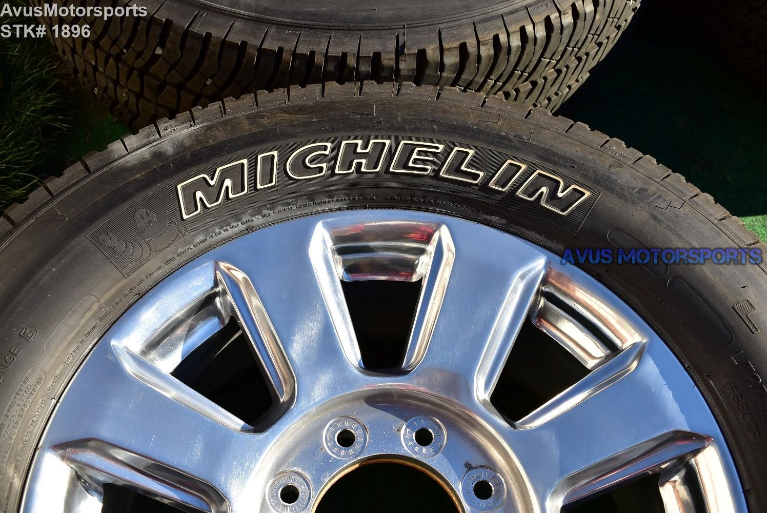 ford  super duty platinum oem factory polished wheels