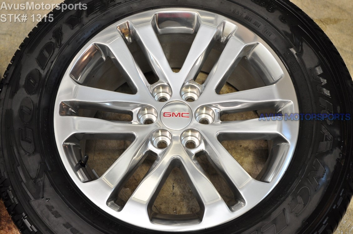"2017 GMC Canyon 18"" OEM FACTORY WHEELS CHEVROLET COLORADO 2016 2015 