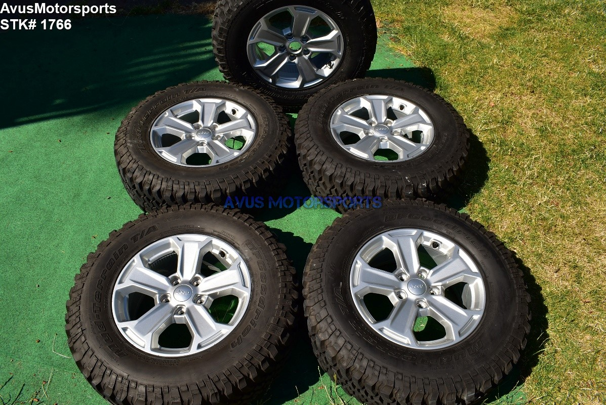 2017 Jeep Wrangler Rubicon Oem Factory 17 U0026quot  Genuine Wheels