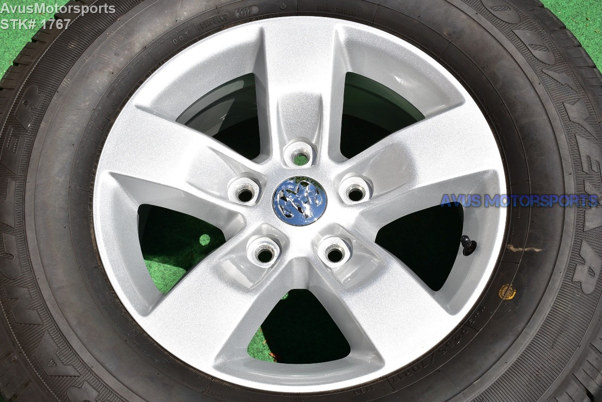 "Dodge Ram 1500 Tires >> 17"" Dodge Ram Sport OEM Factory Polished Wheels Tires Hemi ..."