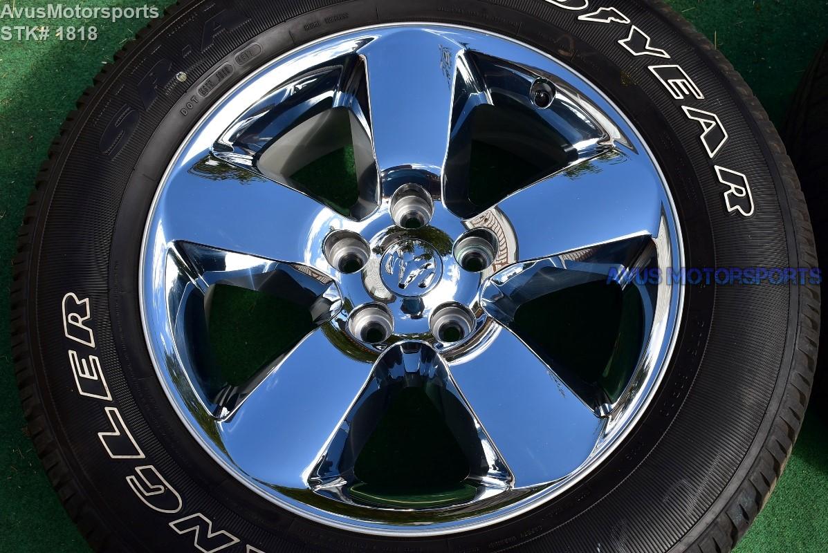 2017 Dodge Ram Big Horn Oem Factory 20 Quot Chrome Clad Wheels