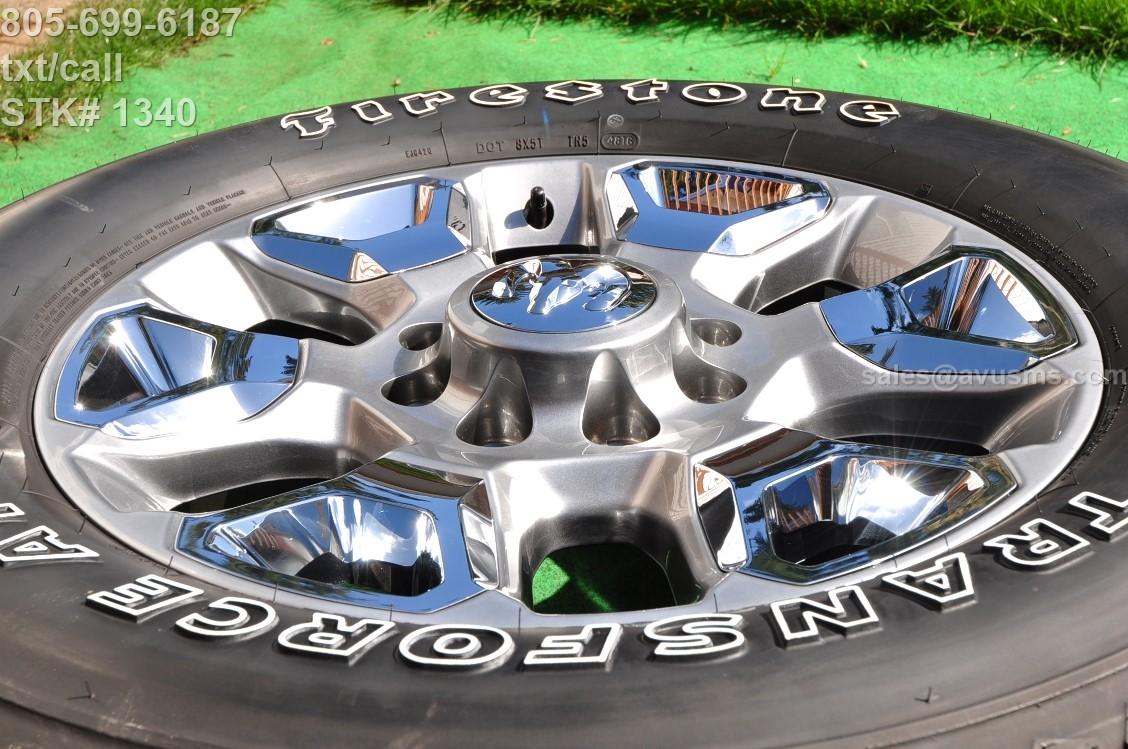 "20"" Dodge Ram Limited OEM Factory Wheels & Tires Laramie 2500 3500 2017 2016 | eBay"