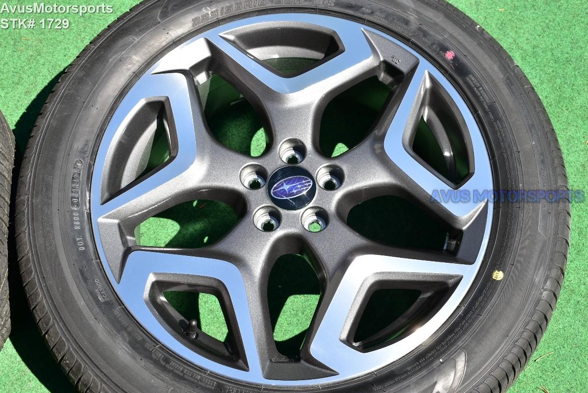 Falken Tires Review >> 2018 Subaru XV Crosstrek Limited 50th anniversary OEM 18 ...