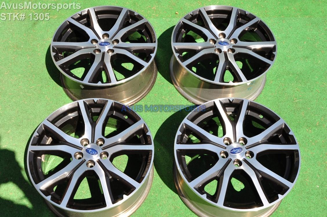 17 subaru impreza oem factory genuine wheels ebay. Black Bedroom Furniture Sets. Home Design Ideas