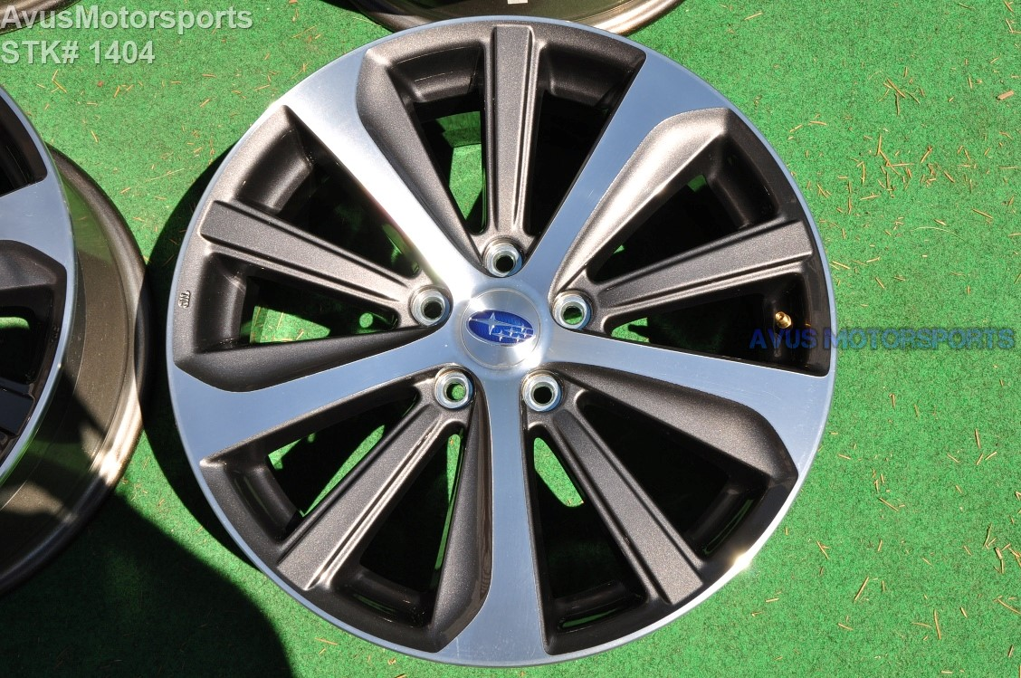 2017 Subaru Legacy Limited Oem 18 Quot Factory Wheels Outback