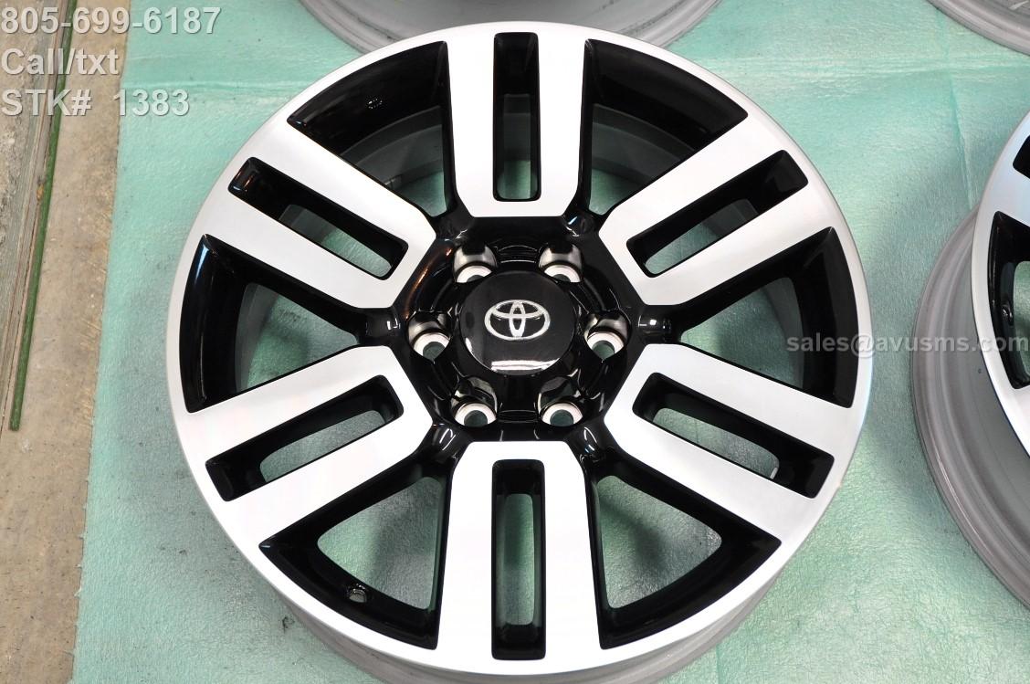 20 toyota 4runner limited oem factory wheels fj land. Black Bedroom Furniture Sets. Home Design Ideas