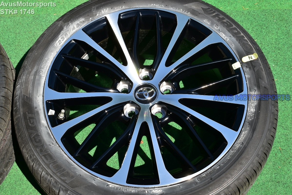 2018 Toyota Camry Oem 18 Quot Factory Wheels Solara Avalon