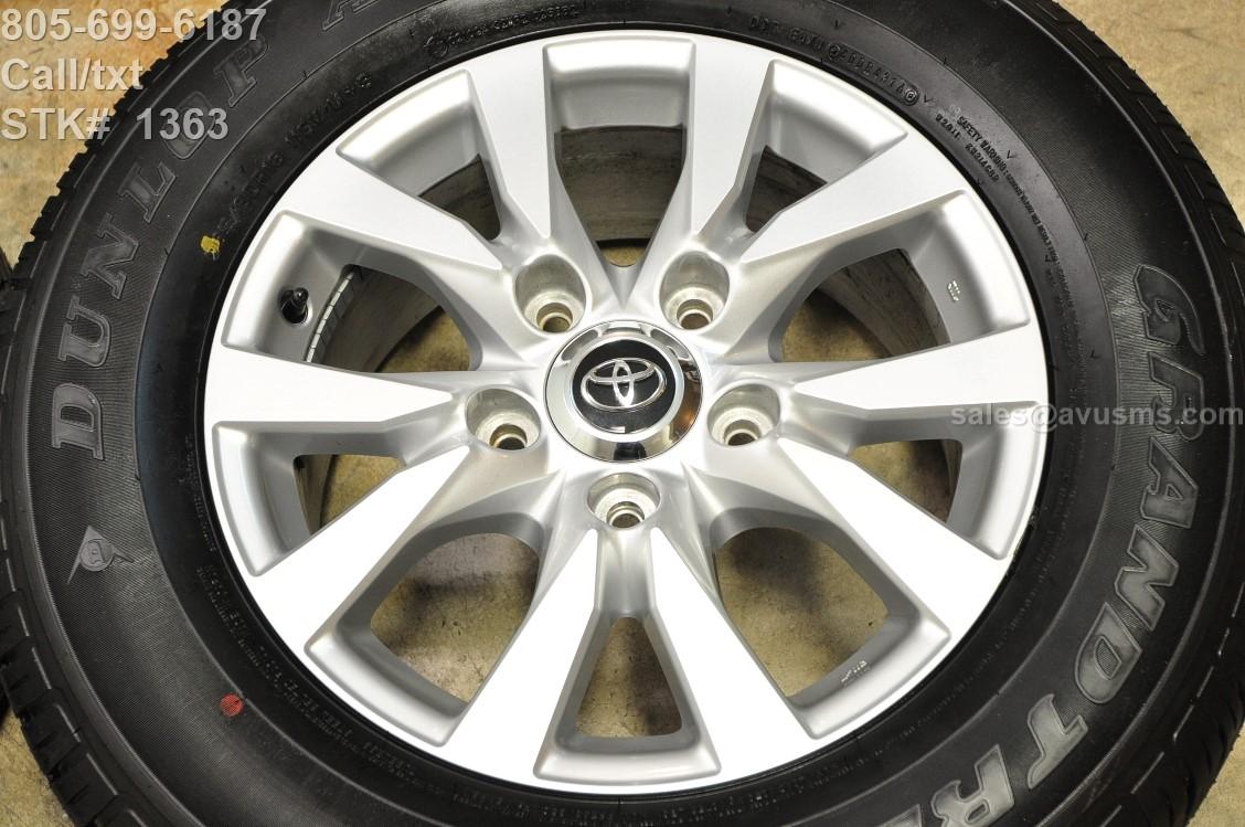 "Toyota Tundra Center Caps >> 18"" TOYOTA Land Cruiser OEM Factory WHEELS Tires SEQUOIA Tundra Lx 470 2016 2017"