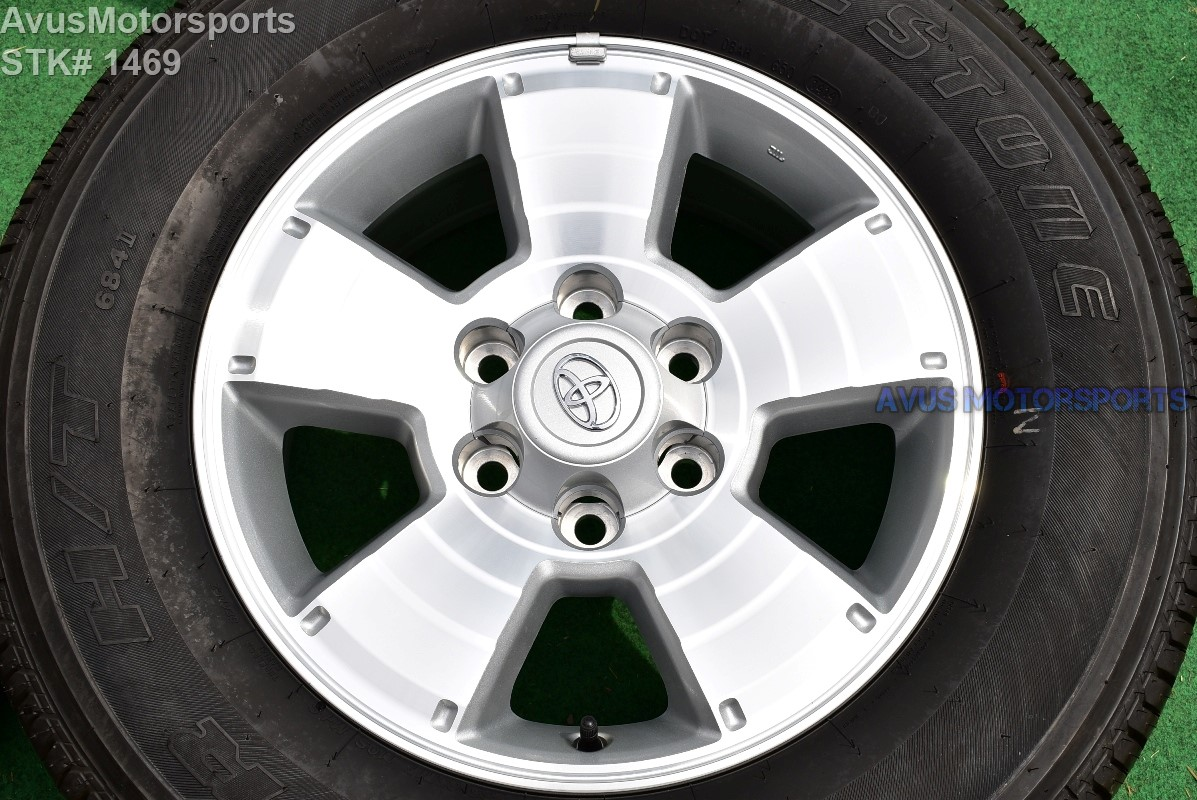 "Tacoma Trd Sport >> 2014 TOYOTA TACOMA OEM FACTORY 17"" TRD WHEELS Tires Land Cruiser 4runner Tundra"