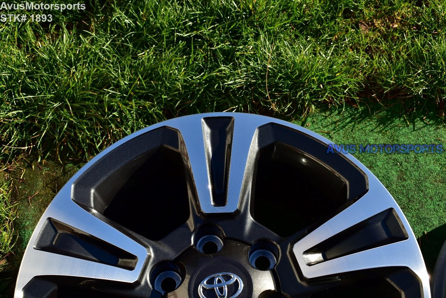 "Toyota Tacoma Trd Sport >> 17"" TOYOTA TACOMA OEM FACTORY TRD WHEELS Land Cruiser ..."