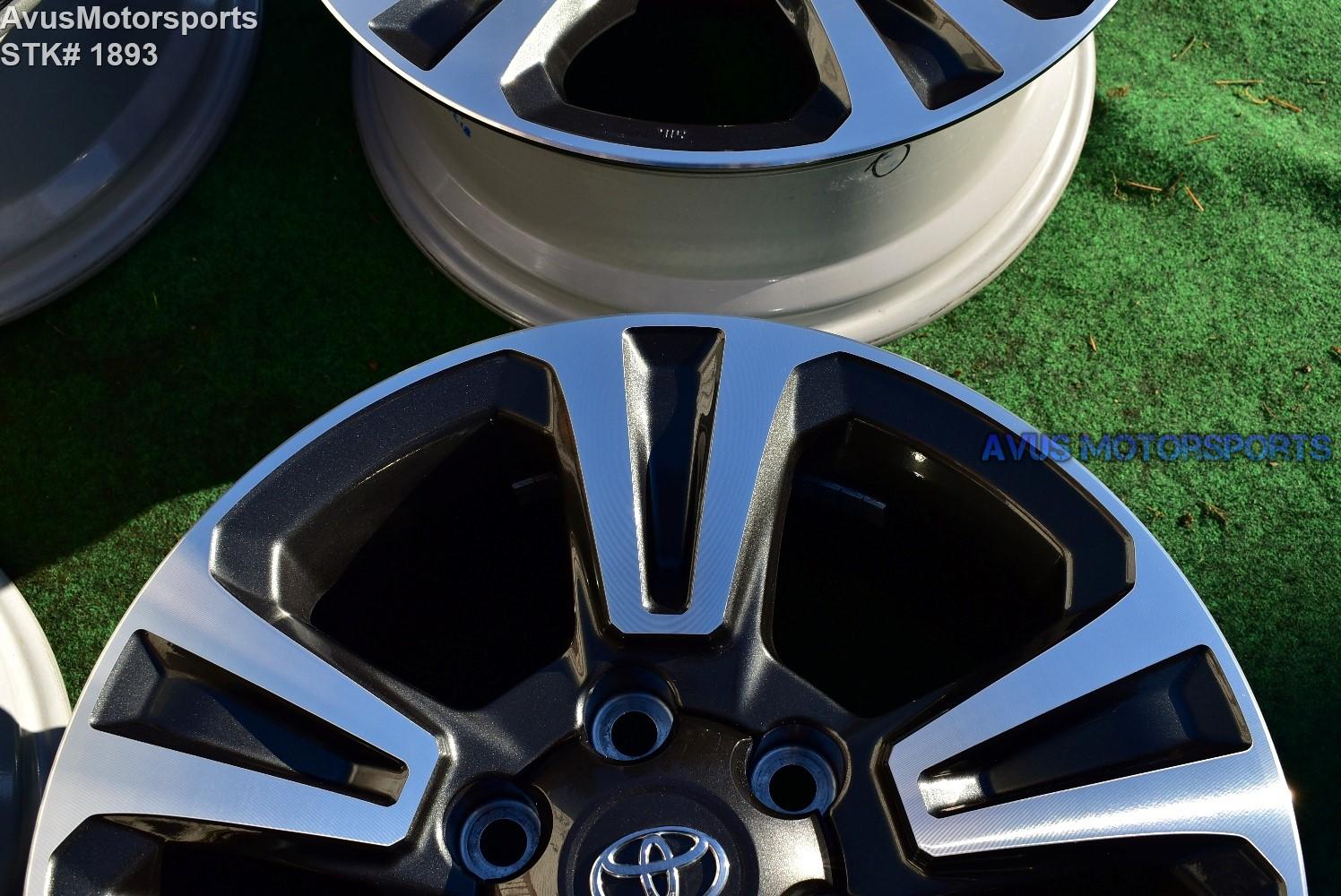 17 u0026quot  toyota tacoma oem factory trd wheels land cruiser 4runner tundra 2018 2019