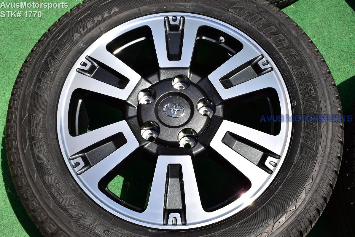 20 Quot Toyota Tundra Trd Sport Oem Wheels Tire Sequoia Land Cruiser Lx570 2018