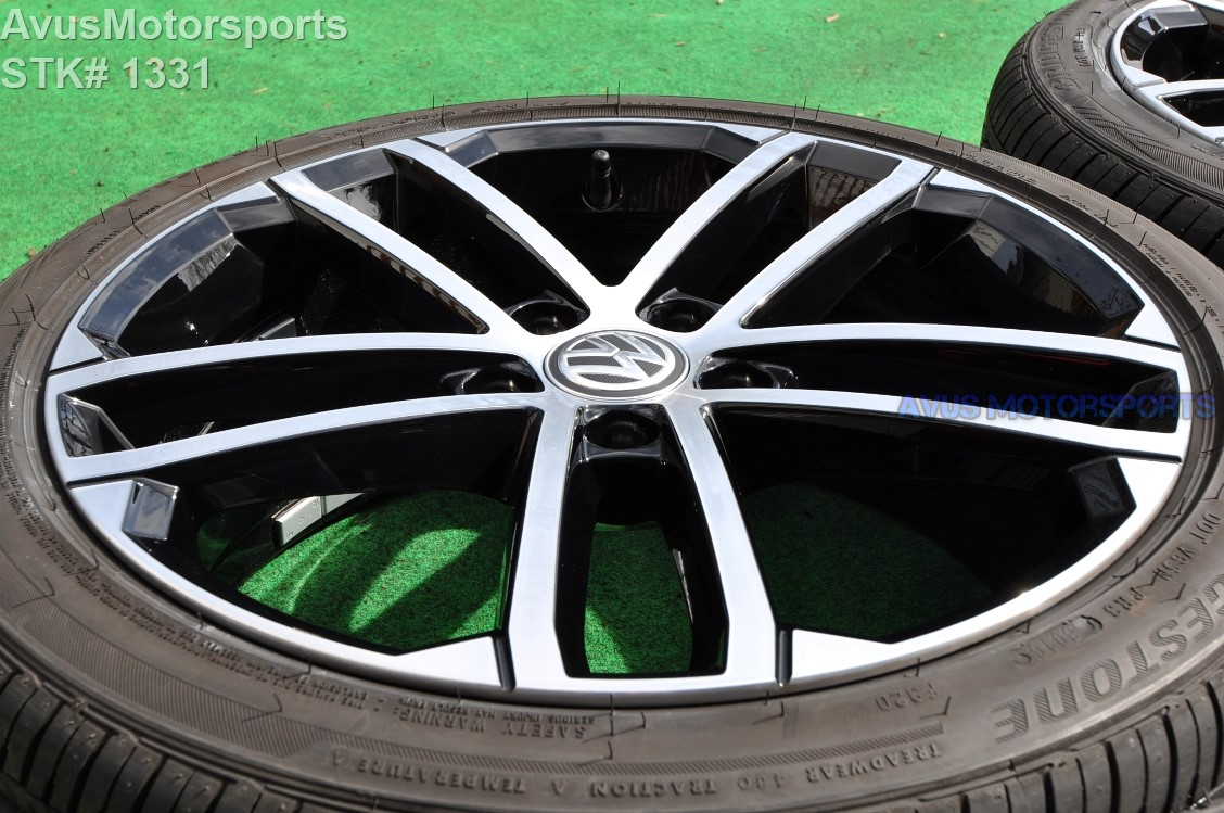 "18"" Volkswagen Golf GTI OEM Factory Nogaro Wheels and p225 ..."