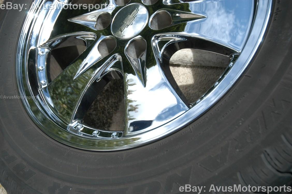 Chevy Silverado 1500 Tires