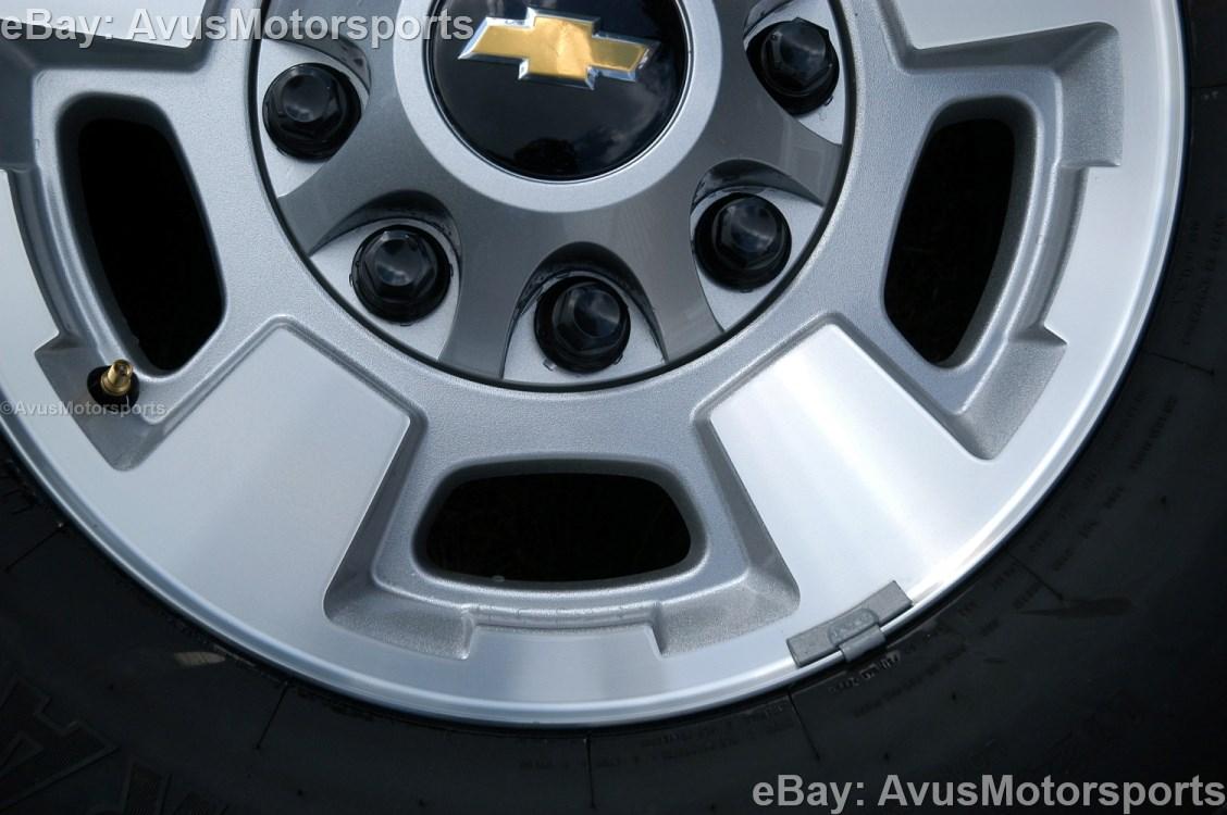 """GMC Sierra 17"""" OEM Wheels"""