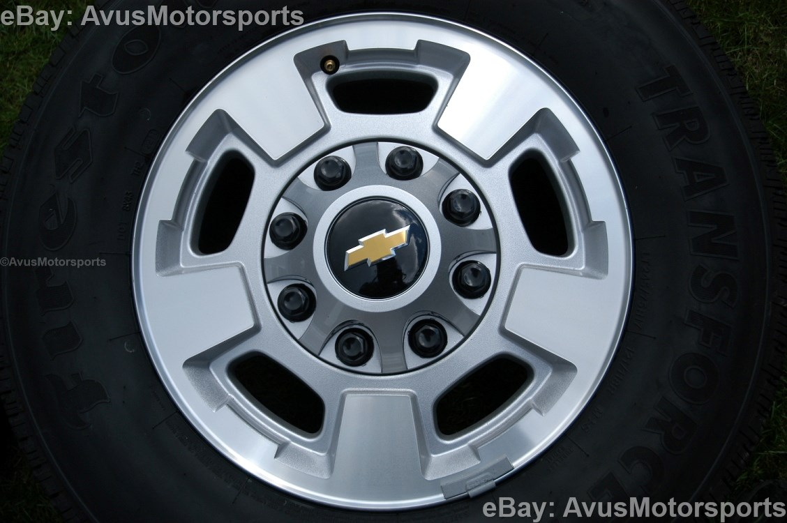 "GMC Sierra 17"" OEM Wheels"