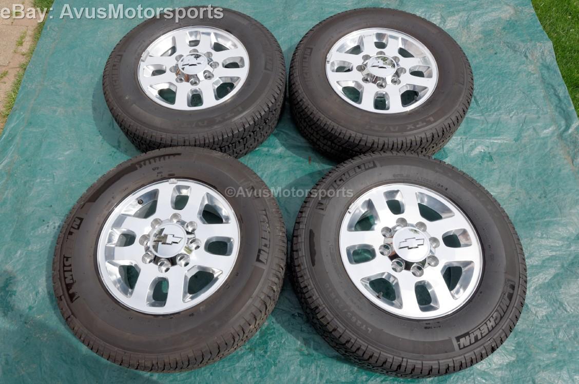 2014 Chevrolet Silverado Wheel Bolt Patternml