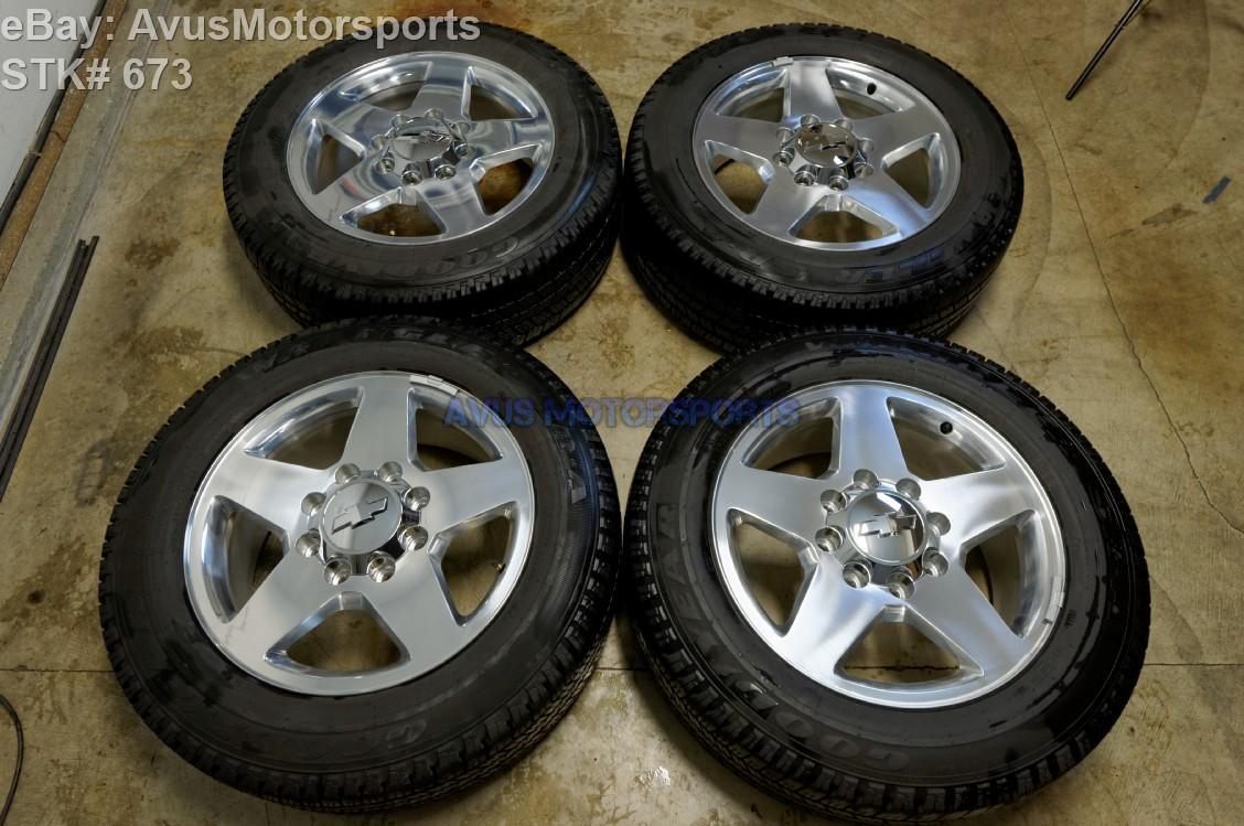 2015 Chevy Silverado 2500 3500 Hd 20 U0026quot  Oem Wheels Tires Gmc