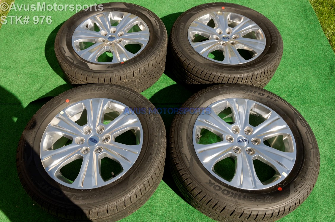 Ford F150 Platinum 20 Inch Oem Factory Wheels And Hankook ...