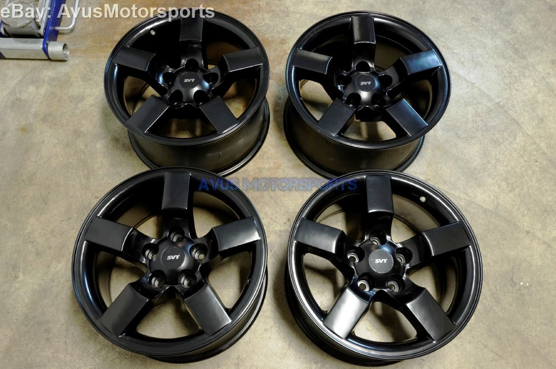 2001 ford f150 svt lightning 18 oem factory wheels satin. Black Bedroom Furniture Sets. Home Design Ideas