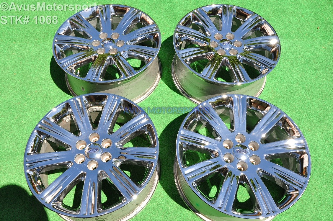 """Ford F150 Bolt Pattern >> 22"""" Ford F150 OEM Factory Limited Chrome Wheels Expedition 9L741A167AA 2007 2008 