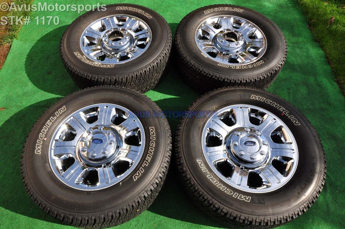 "20"" Ford F350 Super Duty Platinum OEM Factory Chrome Clad"