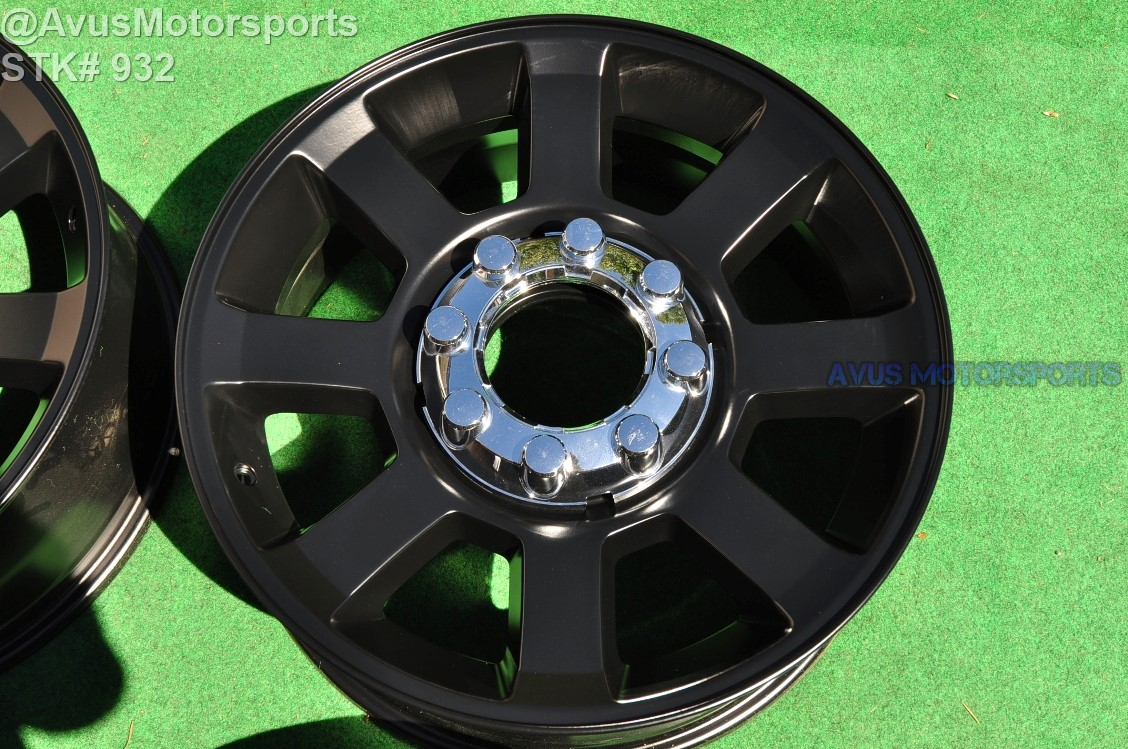 "20"" Ford F250 Super Duty OEM Factory Wheels F350 FX4 BLACK ..."
