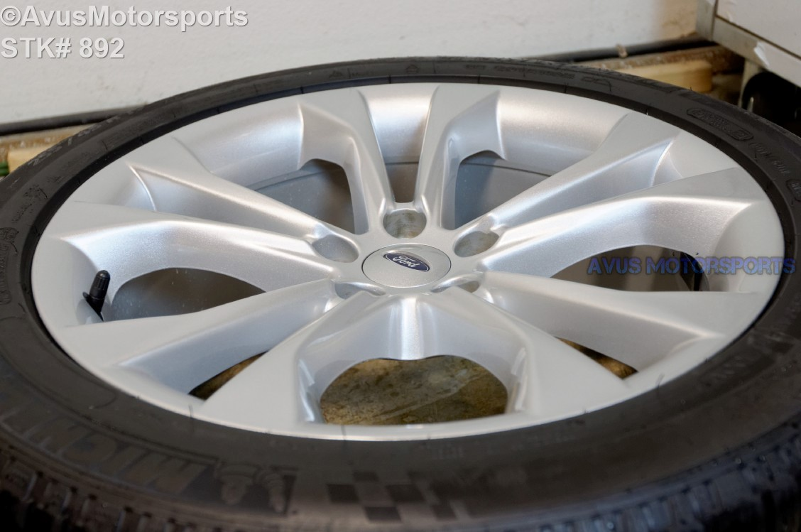 "Used Ford Taurus >> 2013 Ford Taurus 19"" Factory OEM Wheels Michelin Alpin 255 ..."