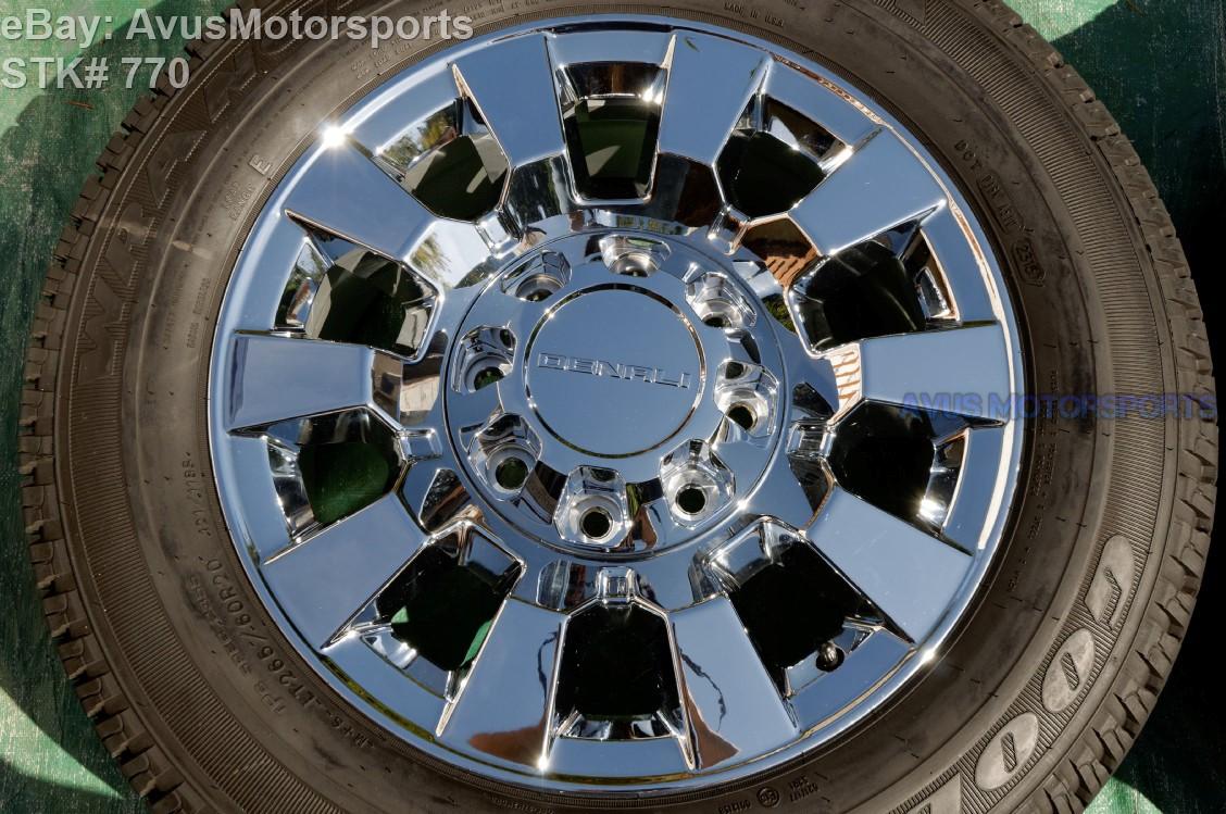 2015 Gmc Sierra Denali 2500 3500 20 Quot Oem Chrome Factory