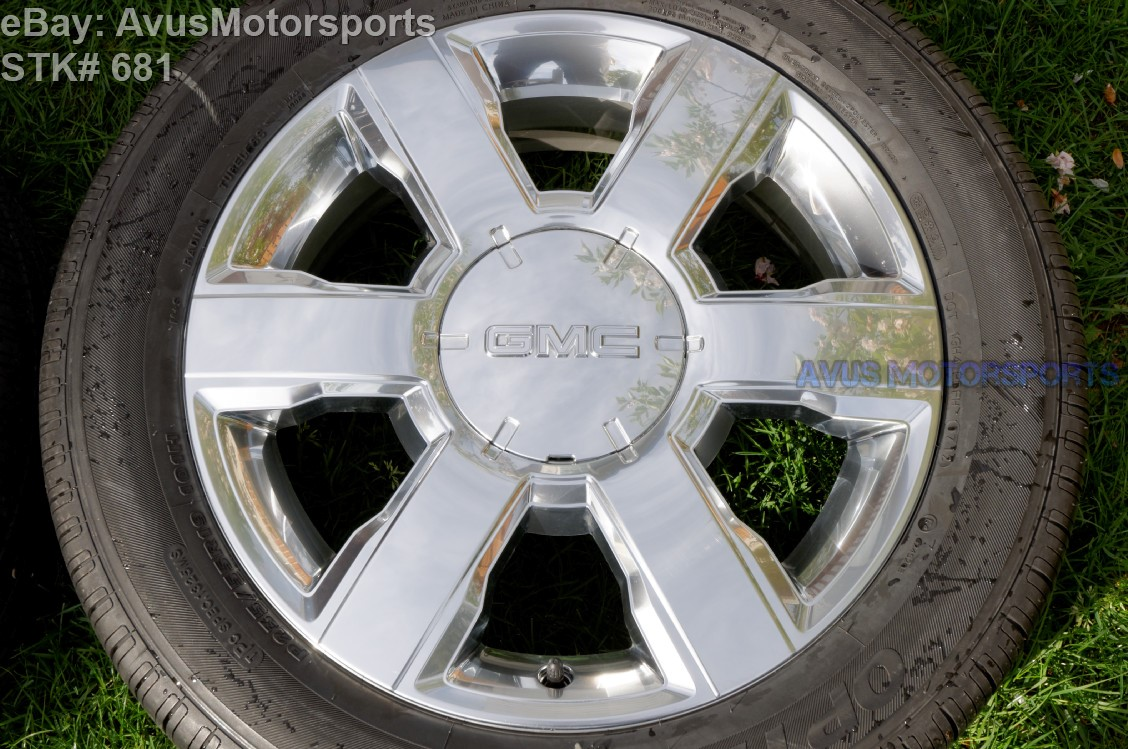 2013 gmc terrain 20 factory platinum clad wheels chevrolet equinox tires ebay. Black Bedroom Furniture Sets. Home Design Ideas