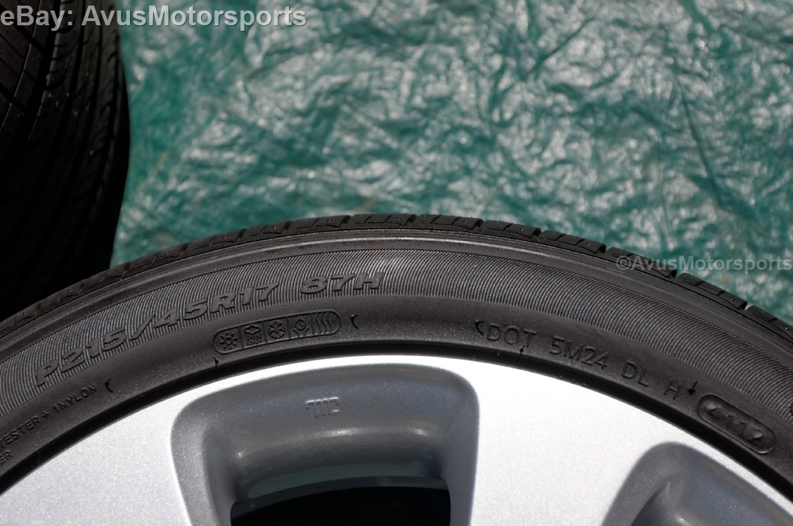 "2013 Hyundai Elantra 17"" Factory OEM Wheels & tires 2014"