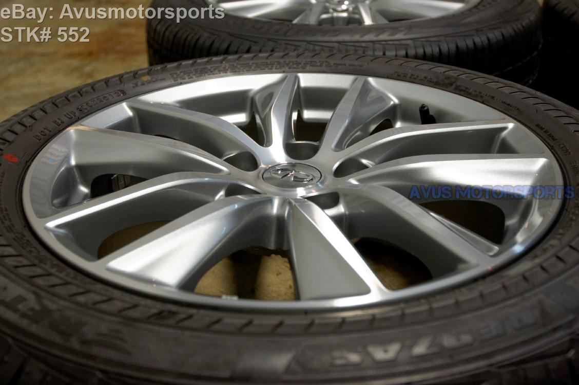 2014 Infiniti Q50 17 Quot Factory Oem Wheels Amp Bridgestone