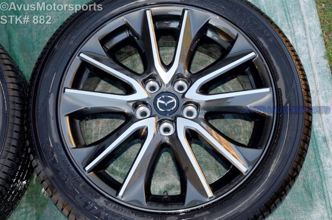 2016 Mazda Cx 3 Oem 18 Quot Factory Wheels Amp P215 50r18 Tires Cx 5 Mazda5 Ebay