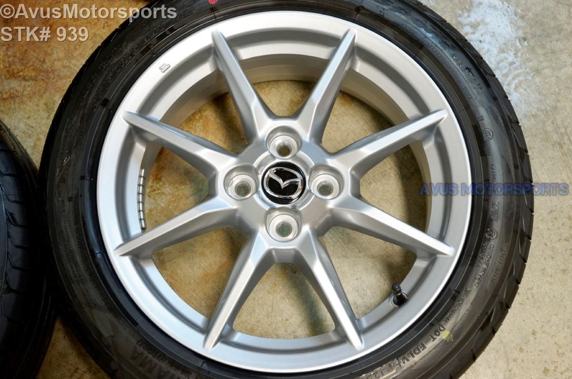 2016 mazda mx 5 miata oem 16 factory wheels yokohama. Black Bedroom Furniture Sets. Home Design Ideas