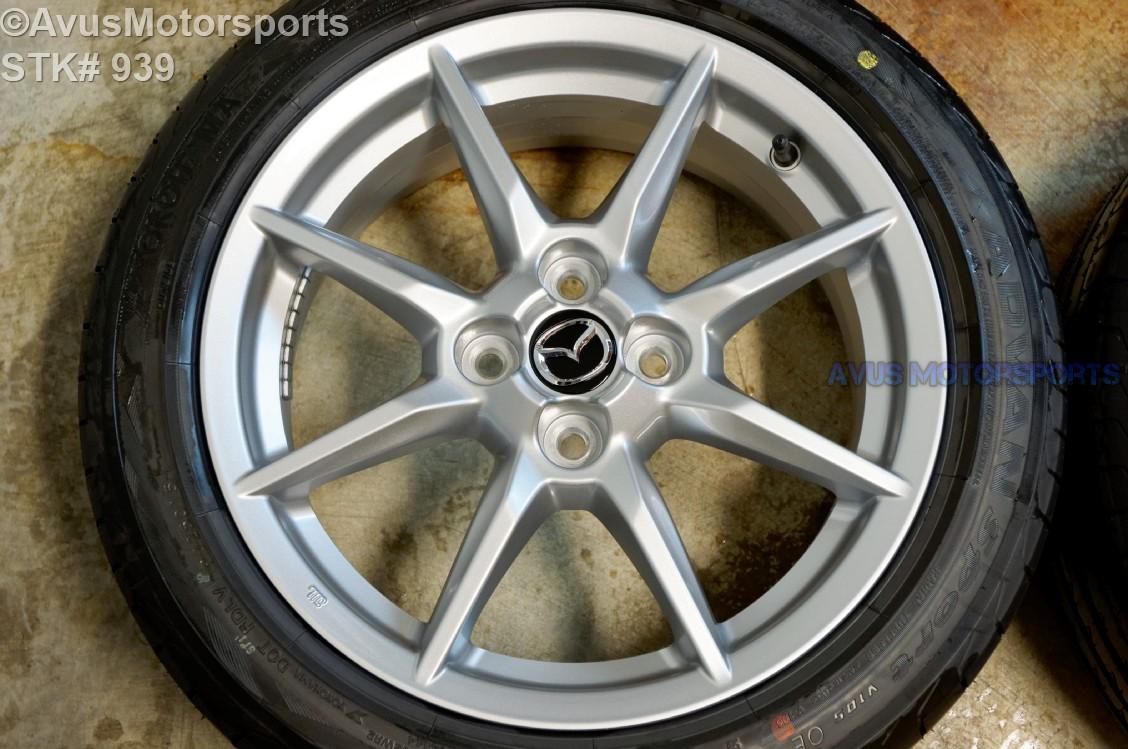 2016 Mazda Mx 5 Miata Oem 16 Quot Factory Wheels Amp Yokohama
